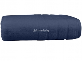 Bath Terry Towel Dark Blue