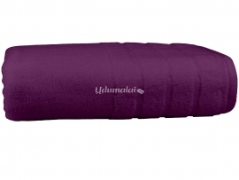 Bath Terry Towel Purple