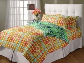 Checks - Double Reversible Quilt