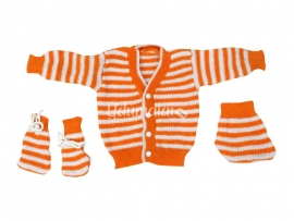 Chittu Baby Sweaters (Orange)