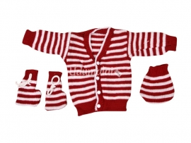 Chittu Baby Sweaters (Red)