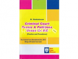 Criminal Courit Forms and Petitions under Cr.P.C