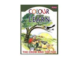 crow and fox (colour and learn)