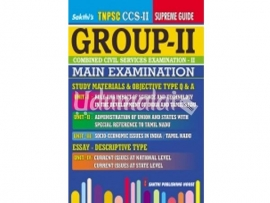 GROUP-II MAIN EXAMINATION