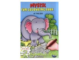 Mystic : Fun Colouring Book(On the Zoo)