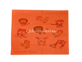 Quick Dry Print Animals  Rubber Sheet