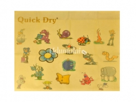 Quick Dry Print Cartoon Rubber Sheet