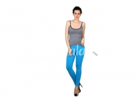 Twin birds womens leggings Grand turquoise