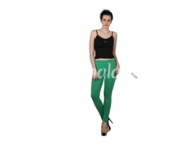 Twin birds womens leggings Green grass
