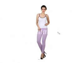 Twin birds womens leggings Mid lavender