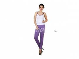 Twin birds womens leggings Orchid lilac