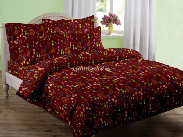 Kids Forest   Double Bed Sheet Set, Buy Kids Forest   Double Bed Sheet Set  Online, Bed Sheets Online Shopping