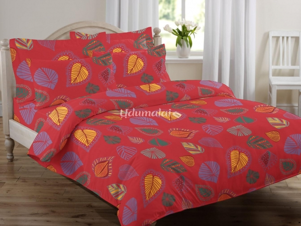 LEAVES   Single Bed Sheet Set, Buy Leaves   Single Bed Sheet Set Online, Bed  Sheets Online Shopping